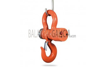 Gancho pesador - Serie BG-ROCKER  - 1.000 a 30000 KG