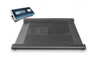 Plataforma Báscula con rampa doble XPANDER + Visor BG-XF Con Impresora