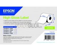 Etiquetas PAPEL ALTO BRILLO adhesivas para impresora EPSON TM-C3500