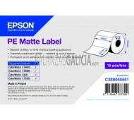Etiquetas PLASTICAS MATE adhesivas para impresora EPSON TM-C3500