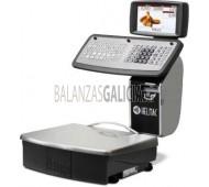 """Balanza Balanza Comercial Inox GP1- Doble Pantalla Color 7"""" - Tickets y EtiquetasGP1- TFT Color 17"""" - Tickets y Etiquetas - Plato de acero inoxidable 375x315mm."""