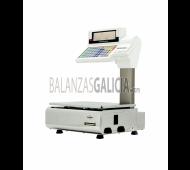 Balanza con Impresora y/o Etiquetadora - Serie BM3 Doble Cuerpo