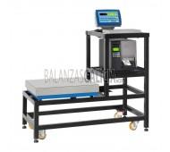 BG-AX-COUNT Carretilla de acero pintado para sistemas con dos plataformas