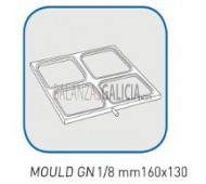 MOLDE S-JET 400 (molde 1/8 160x130mm)
