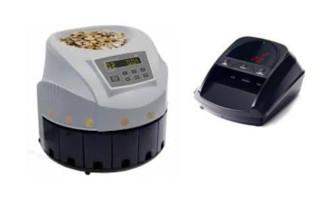 Detectores y Contadores de monedas y billetes