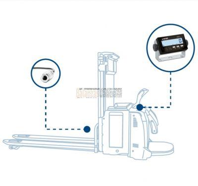 KIT de pesaje Hidráulico para Apiladores y Transpaletas Eléctricas - Serie BG-TP ELP