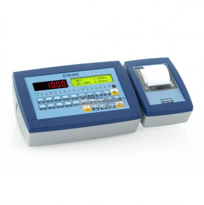 Visor con teclado y software totalmente personalizable para el pesaje de vehiculos