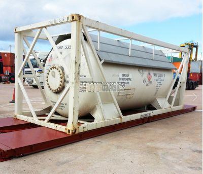 Báscula modular transportable para pesaje contenedores marítimos hasta 80.000 Kg