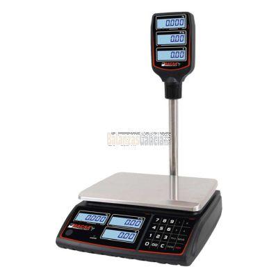 Balanza Comercial con Torre - Peso Precio Importe con batería - Serie BC-1611T