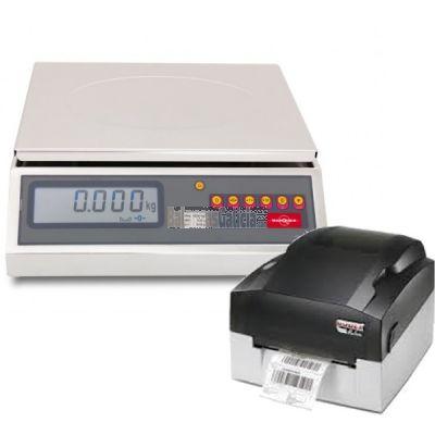 Etiquetadora semi-automática con Balanza INOX - Serie BG-7500