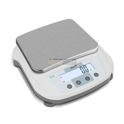 Balanza de Laboratorio - Serie EH de alcance de 500 g a 6.000 g y una precisión de hasta 0.01g