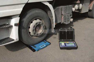 Básculas móviles para pesar camiones WWSCRF
