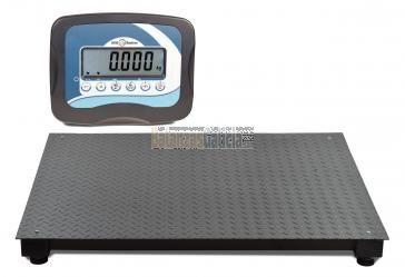 Plataforma báscula industrial de suelo pesa palets y paqueteria con visor - Serie BG-Silver - 1.500/3000Kg