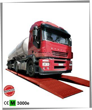 "Báscula pesa vehículos serie DTW ""DUAL TRACK"" hasta 80.000 Kg"