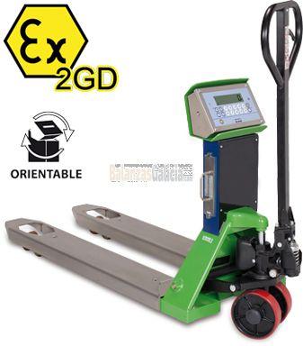 Transpaleta pesadora ATEX Series BG-ATEXHARDEX-1