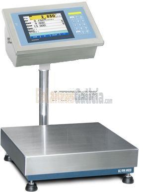 Sistema de pesaje para control de estadístico BG-AX-QUALY con plataforma de sobremesa