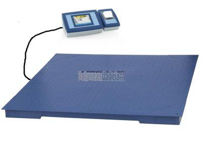 Sistema de pesaje para Control de Residuos - BG-AX-ECO con impresora (opcional) y plataforma de suelo