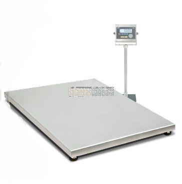 Plataforma de pesaje Acero Inoxidable AISI-316L - Serie BG-INOX-MARINE con visor INOX