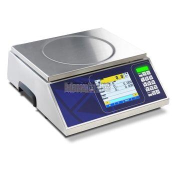 Balanza digital CONTROL DE PESO / SQC en acero inoxidable BG-KIEX con pantalla táctil y SEMAFORO integrado