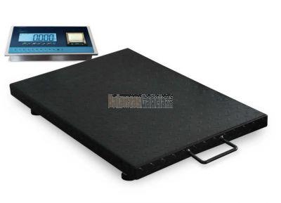 Báscula de Suelo BG-LANCER-Printer 600Kg con con visor e impresora integrada