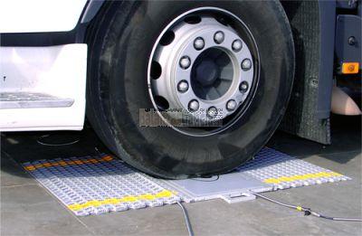 Plataforma pesa ruedas y ejes de bajo perfil - Serie BPR