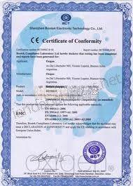 Certificado de Calibración Metrológico 1ª Verificación CE-M - (BL)