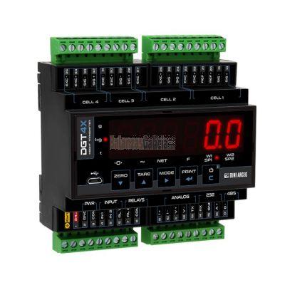 Visor transmisor de peso de alta velocidad - Serie DGT4X
