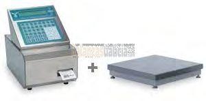 Etiquetadora semi-automática INOX - Serie BG-SILGAR