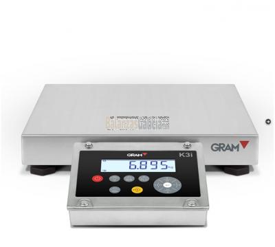 Báscula Industrial - Serie K3i-X inox AISI304 con Visor Inox