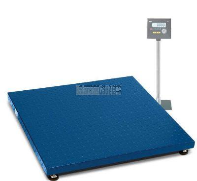 Plataforma báscula industrial de suelo pesa palets y paqueteria con visor - Serie K3 Tortuga