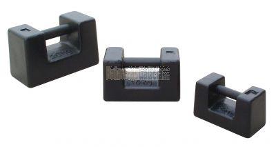 Pesas / Masas M1 de fundición rectangulares individuales para calibración de básculas