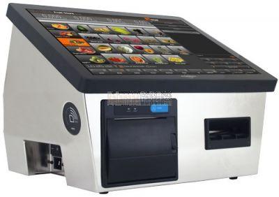 Etiquetador BM500 con pantalla táctil y construcción en acero inoxidable