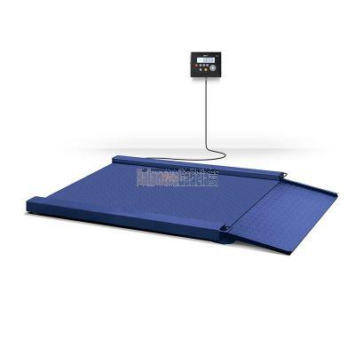 Báscula de suelo con rampa y visor - Serie K3 PENGUIN XTREM