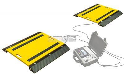 Pesa ejes PR. Para controlar el peso de sus vehículos.