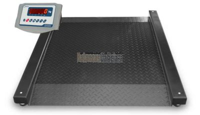 Plataforma Báscula con rampa doble XPANDER + Visor BG-XF