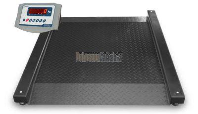 Plataforma Báscula para silla de ruedas con rampa doble XPANDER + Visor BG-XF