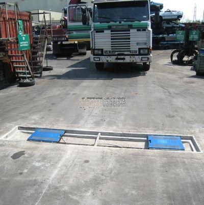 Básculas plataformas pesa ruedas / pesa ejes portátiles - Serie BG-WW-PROFESIONAL