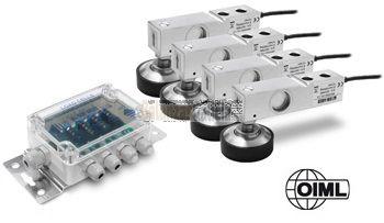 Kit de células de 1000 Ohm para montaje de balanzas de suelo
