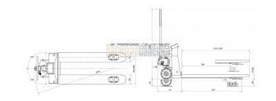 Transpaleta pesadora - Serie ARX LCD