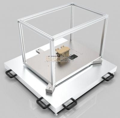 Sistema de medida de masa y su distribución 3D para piezas pequeñas static|W&B