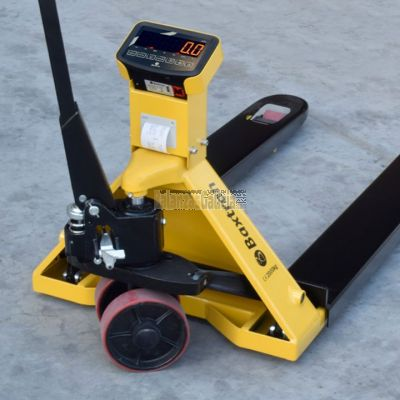 Transpaleta pesadora ARX WIDE 680 x 1220 mm para palets americanos