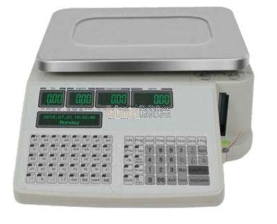 Balanza Comercial plana y con etiquetadora - Serie WINTRONIX WX-BC1600