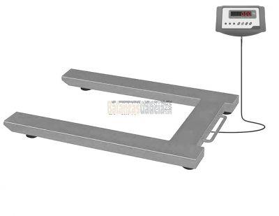 Bascula Pesapalets con visor WINTRONIX WX-P300 Capacidad: 1.500Kg / Precisión 500g