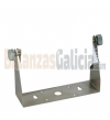 Soporte U de acero inoxidable para pared ( Visores  K3,K3i, K3i printer)