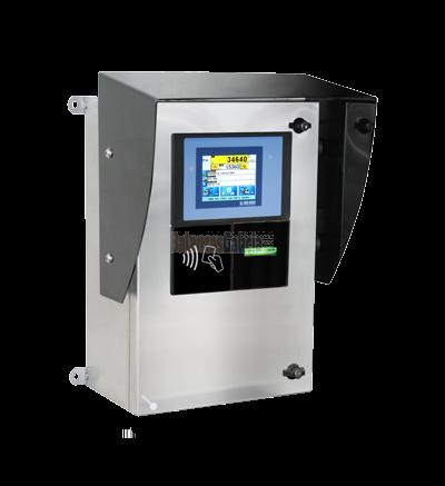 Sistema Autoservicio pantalla táctil para pesaje de Camiones BG-0953ETPBOX