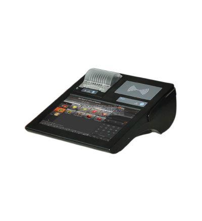 TPV Portátil TPV-GPOS-8011 con pantalla táctil, impresora y batería ideal para venta ambulante en vehículos.
