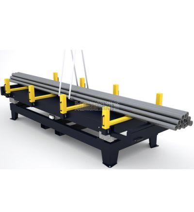 Plataforma de 4 células diseñada para pesar hierros y barras. Combina robustez con un concepto multiuso gracias a los soportes extraïbles.