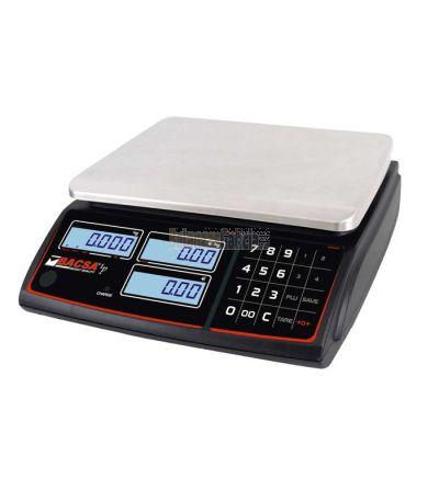 Balanza Comercial Plana - Peso Precio Importe con batería - Serie BC-1611S