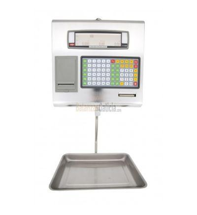 Balanza con Impresora y/o Etiquetadora Serie BM3 Colgante