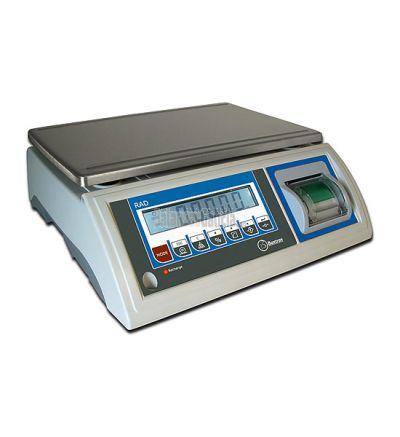 Balanza industrial Solo peso Serie RAD con impresora